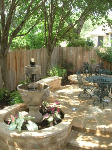 Central Texas Landscaping Services Stonework Waterscapes