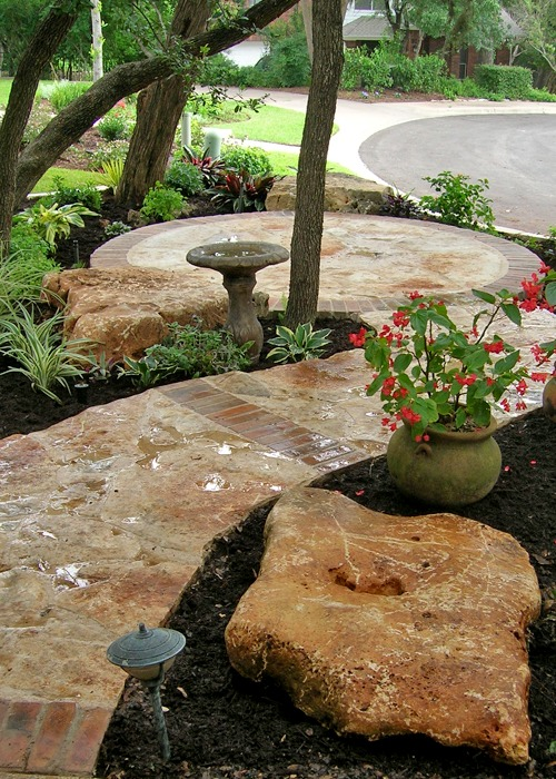 Central Texas Landscaping, Stonework And Xeriscape Services. Design My Yard  Portfolio