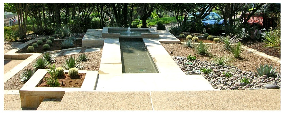 Before and After-Evler TX landscaping